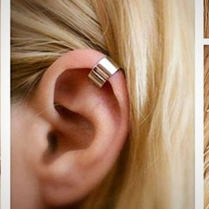$5 ADD-ON Pair of Rose Gold Ear Cuffs -no piercing